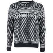 Threadbare Men's Dashwood Fairisle Knitted Jumper - Navy