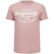 T-Shirt Originals Finish Jack & Jones -Rose Poudre