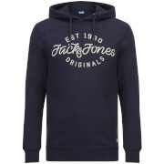 Jack & Jones Men's Originals Finish Hoody - Total Eclipse