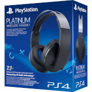 Sony PlayStation 4 Casque de Jeu Sans Fil Platinum