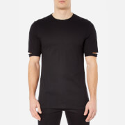 Helmut Lang Men's Standard Fit Cut Hem T-Shirt - Black