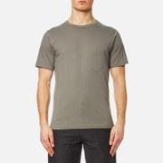 Universal Works Men's Pocket T-Shirt - Dk Stone