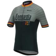 Santini Il Lombardia Short Sleeve Jersey - Grey