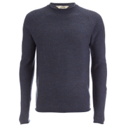 Tokyo Laundry Men's Brando Jumper - Charcoal/Dark Denim Twist