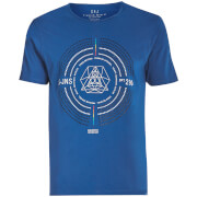 T-Shirt Iconostasis Col Rond Smith & Jones -Bleu
