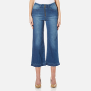By Malene Birger Women's Lesatian Zip Jeans - Pastel Blue