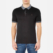 Michael Kors Men's Greenwich Collar Polo Shirt - Black