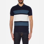 Michael Kors Men's Colour Block Polo Shirt - Midnight