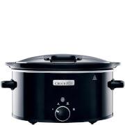 Crock-Pot CSC031 5.7 Litre Hinged Lid Slow Cooker - Black