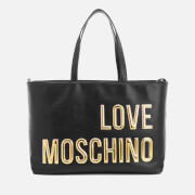 Love Moschino Women's Logo Tote Bag - Black