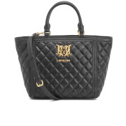 Love Moschino Women's Quilted Tote Bag - Black