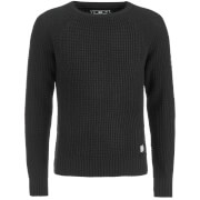 Crosshatch Men's General Jumper - Black