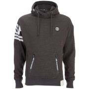 Crosshatch Herren Boost Hoody - Charcoal Marl