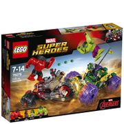 LEGO Marvel Superheroes: Hulk contre Hulk Rouge (76078)
