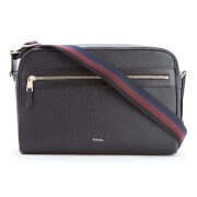 Paul Smith Men's City Webbing Leather Cross Body Bag - Black