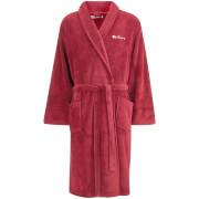 Ben Sherman Men's Fleece Robe - Burgundy