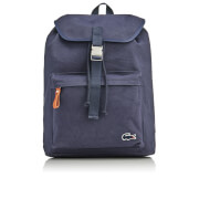 Lacoste Men's Flap Backpack - Navy