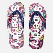 Superdry Women's Flip Flops - Eclipse Navy/Fluro Pink