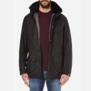 Barbour International Men's Onyx Wax Jacket - Black