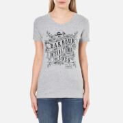 Barbour International Women's Riser T-Shirt - Grey Marl