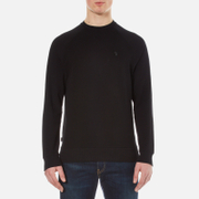 Luke 1977 Men's Honey Guy Waffle Raglan Top - Jet Black