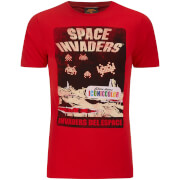 T-Shirt Homme Atari Space InVadors Del EAtari - Rouge