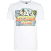 Atari Men's Asteroids Deluxe T-Shirt - White