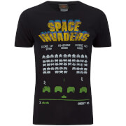 Atari Herren Space Invaders Classic Arcade Game T-Shirt - Grau