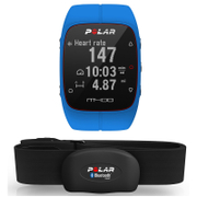 Polar M400 GPS Running Watch with Heart Rate Monitor Blue