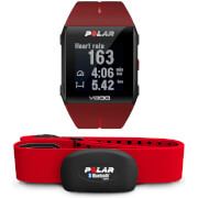 Polar V800 GPS Sports Watch with Heart Rate Monitor - Red