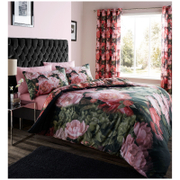 Catherine Lansfield Dramatic Floral Bedding Set - Multi