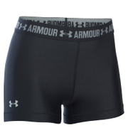 Under Armour Women's HeatGear Armour 5 Inch Shorts - Black