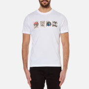 PS by Paul Smith Men's Mascots T-Shirt - White
