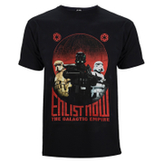 Star Wars Rogue One Men's Trooper T-Shirt - Black