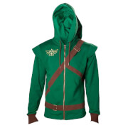 Zelda Men's Link Cosplay Hoody - Green