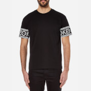 KENZO Men's Kenzo Paris Logo Sleeve T-Shirt - Black