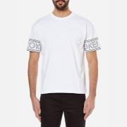 KENZO Men's Kenzo Paris Logo Sleeve T-Shirt - White