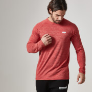 Myprotein Heren performance lange mouwen Top - Rood