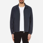 Folk Men's Nylon Box Jacket - Blue