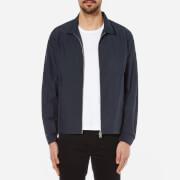 Folk Men's Nylon Box Jacket - Blue