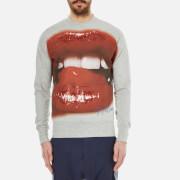 Vivienne Westwood MAN Men's Lips Sweatshirt - Grey Melange