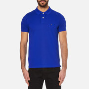 Tommy Hilfiger Men's Slim Fit Short Sleeve Polo Shirt - Surf The Web