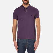 Tommy Hilfiger Men's Slim Fit Short Sleeve Polo Shirt - Sweet Grape