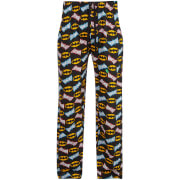 DC Comics Men's Batman Print Lounge Pants - Black