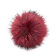 BKLYN Women's Pom Pom - Deep Red