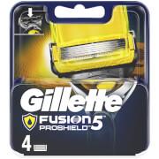 Fusion5 ProShield Razor Blades for Men - 4 Count