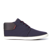 Jack & Jones Men's Vertigo Mid Top Trainers - Navy Blazer