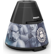 Projecteur et Veilleuse Star Wars LED Disney 2-in-1 Philips