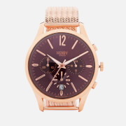 Henry London Hampstead Mesh Watch - Rose Gold