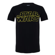 Star Wars Kinder Logo T-Shirt - Schwarz